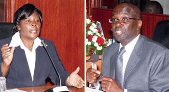 Nancy Baraza & Willy Mutunga